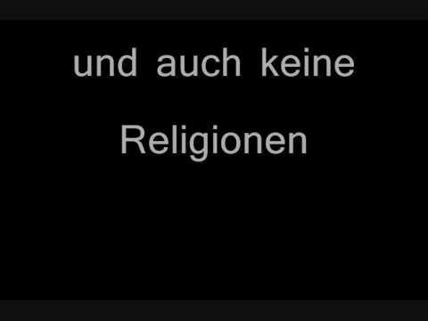 Imagine beatles lyrics deutsch