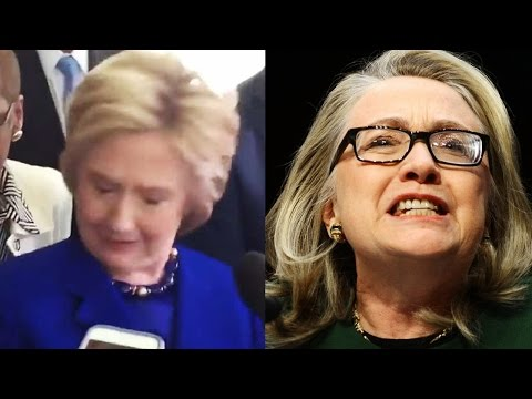 Hillary Clinton Apparent Epileptic Seizure Reaction - Is She Medically Unfit for Office?