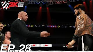 WWE 2K16 My Career - THE AUTHORITY WANTS B! (EP. 28) [WWE MyCareer PS4/XBOX ONE/NEXT GEN Part 28]