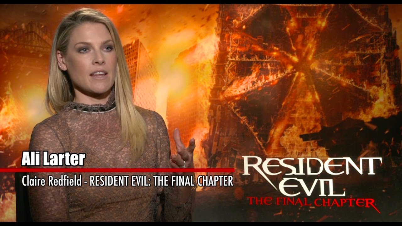 Resident Evil The Final Chapter Interview: Exclusive Interview: Ali Larter And William Levy
