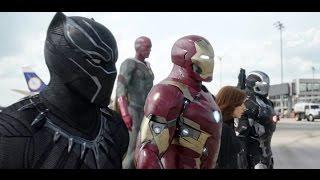 """Лучшее битвы супер героев!Из фильма """"Первый мститель противостояние"""""""