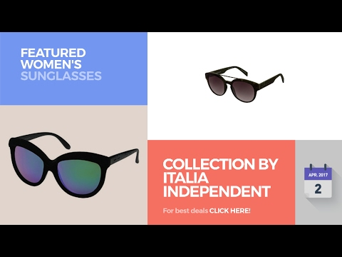 Collection By Italia Independent Featured Women's Sunglasses