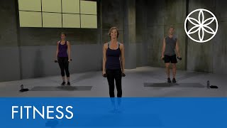 Lower Body HIIT with Ashley Borden | Fitness | Gaiam