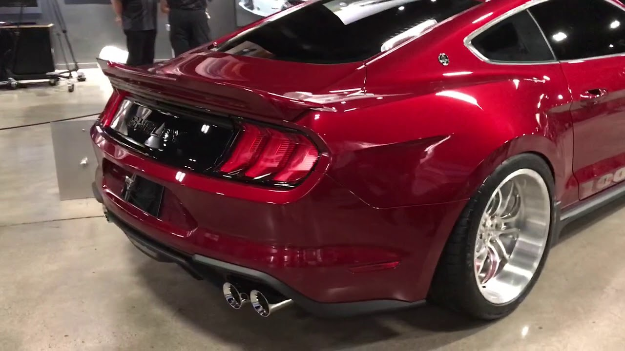The new 2018 shelby 1000