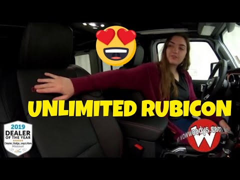2019 Jeep Wrangler Unlimited Rubicon 19PA28 Review   Video Walkaround  Suvs for sale at WowWoodys