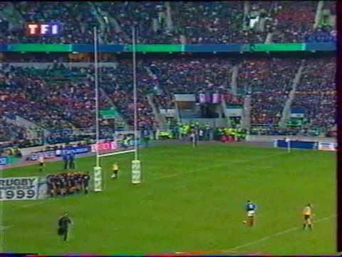 France vs nouvelle z lande demi finale de la coupe du monde 1999 de rugby part 5 youtube - Rugby coupe du monde 1999 ...