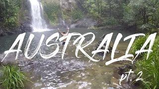 MYSTERY FLIGHTS AUSTRALIA PART 2 | FREE SEAT UPGRADE & RAINFOREST WATERFALL