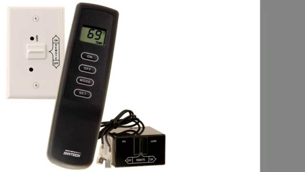 Skytech SKY-1001TH-A Fireplace Remote Control with Thermostat ...