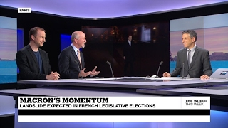 Macron's momentum   Landslide expected in French legislative elections
