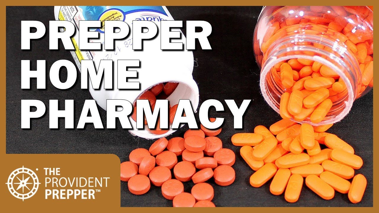 Best Drugs to Stock in a Prepper Home Pharmacy