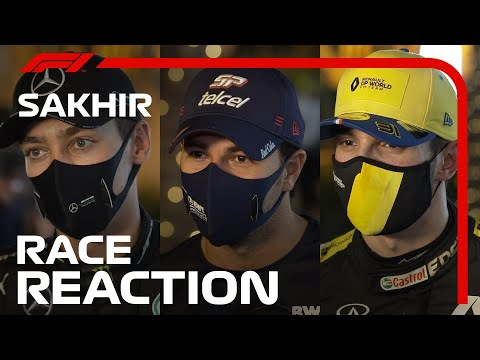 The Drivers' Post-Race Reaction | 2020 Sakhir Grand Prix
