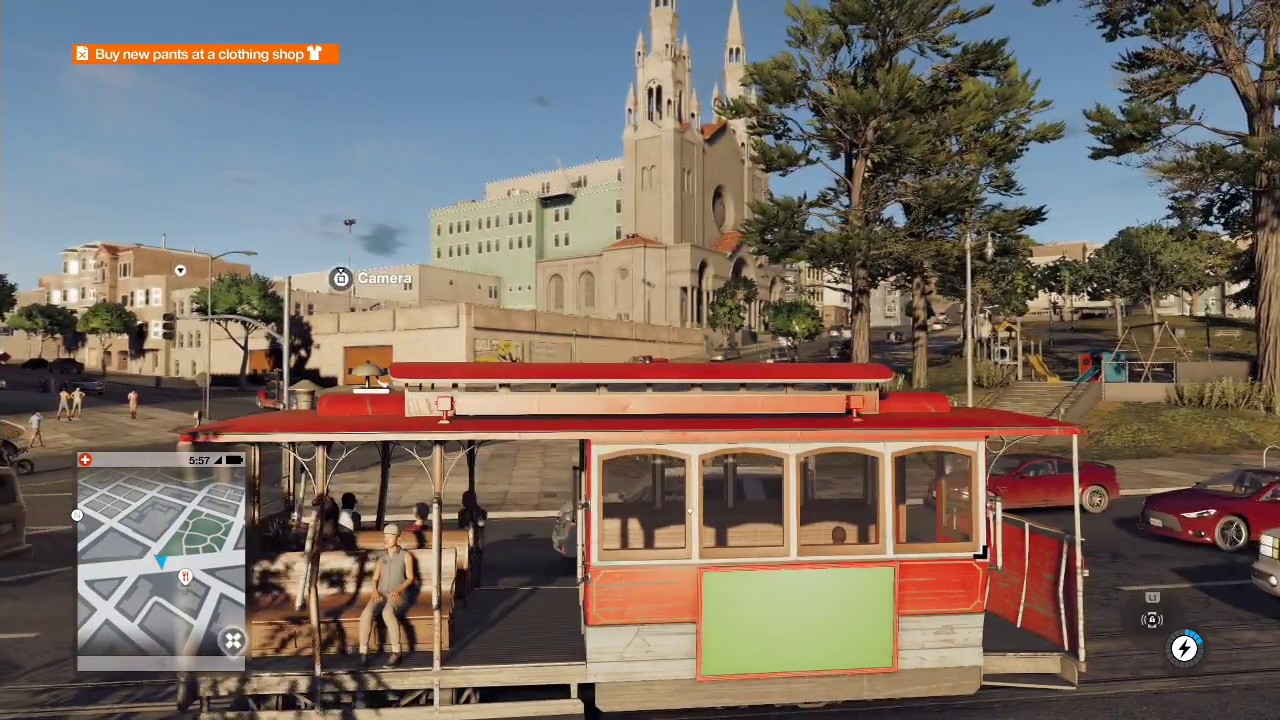 Ride A Cable Car Watch Dogs
