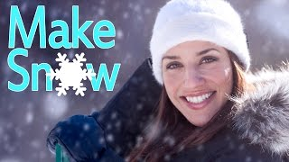 "Create Snow in Photoshop: How to Make Brushes & use ""Add Noise"""