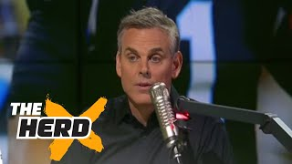 Colin Cowherd lists all the quarterbacks he would rather have than Cam Newton | THE HERD