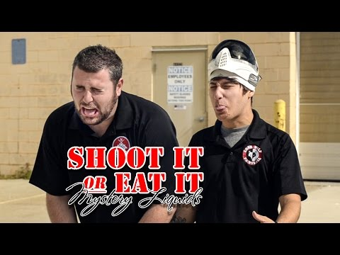 Shoot It or Eat It Mystery Liquid Challenge Slow Motion Lone Wolf Paintball Michigan