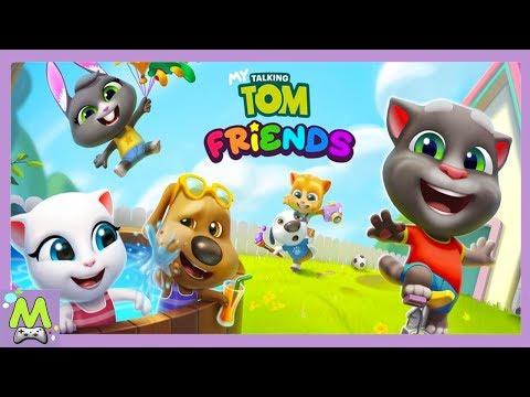 Мой Говорящий Том:Дом Друзей.Новая Игра про Тома и Друзей.Симулятор Виртуальных Питомцев