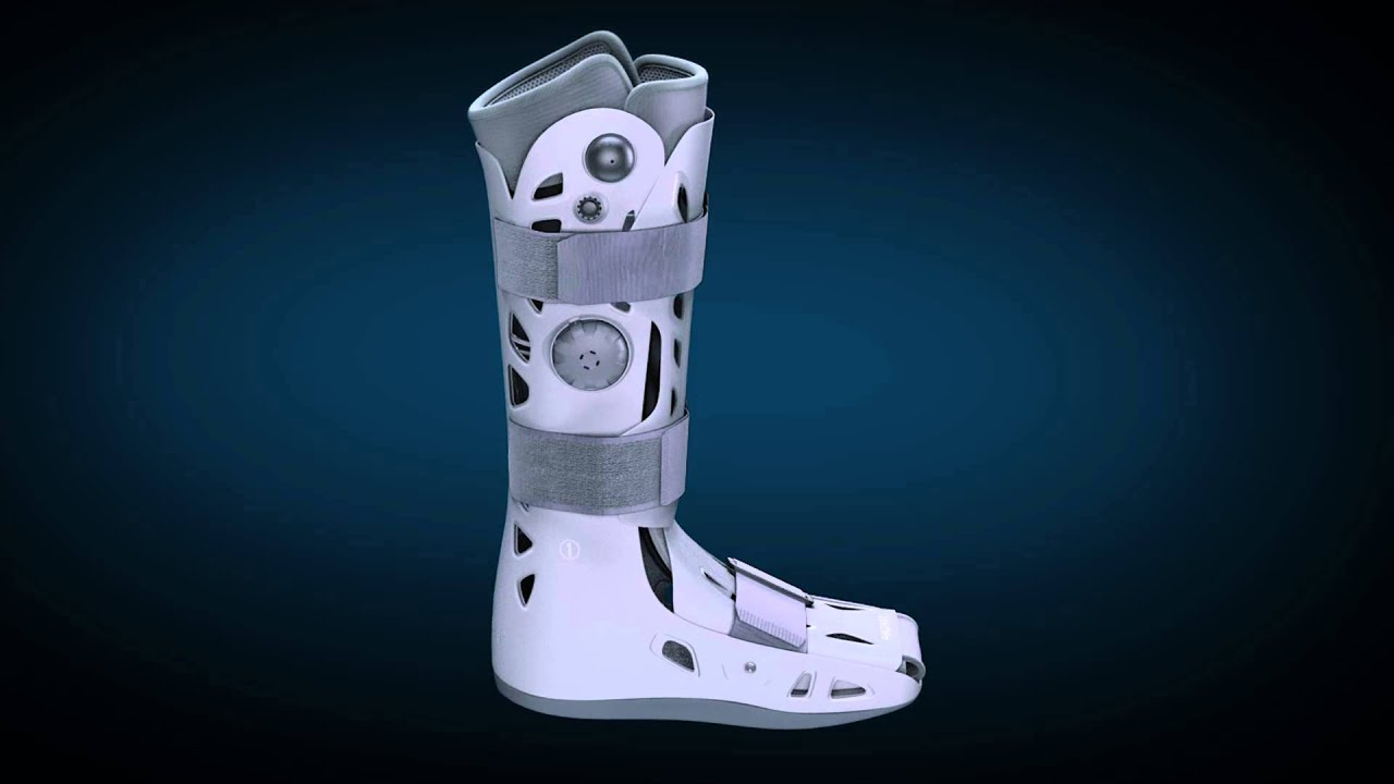 How to fit the AirSelect Standard Walking Boot