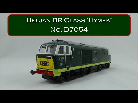 OO Models in Profile - Heljan Class 35