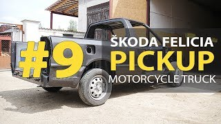 #9 Škoda Felicia Pickup 1.9D Rebuilding A Wrecked - Home painting