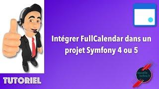Miniature catégorie - Intégrer FullCalendar dans un projet Symfony 4 ou 5