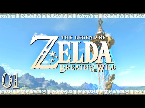 """Zelda: Breath of the Wild   EP01: """"Wake Up Call"""" [Blind] [Switch]"""