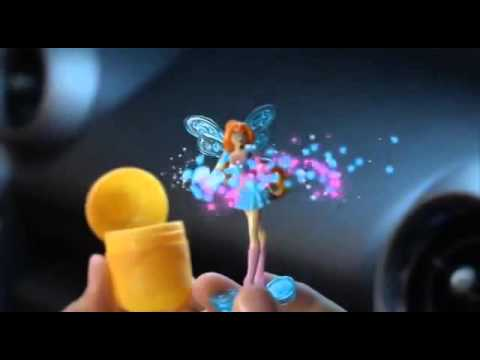 Реклама Kinder Сюрприз Winx