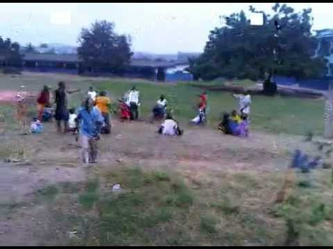 GHANA TEENS CAMP  2011 AEROBICS