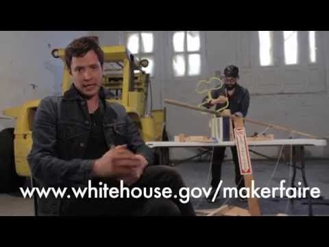 Get ready for the White House Maker Faire on June 18th, 2014