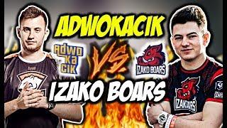 ADWOKACIK VS IZAKO BOARS!!! DERBY, BYALI KASUJE Z P2K, NEEX CLUTCH 1vs2 - CSGO BEST MOMENTS