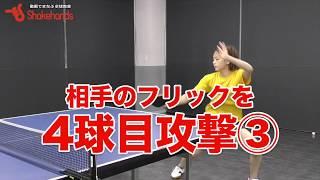 【卓球】山本怜選手が教える「サーブ3球目、レシーブ4球目」 山本怜 検索動画 2