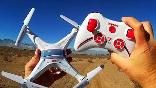 Syma X5C Drone Range Test with X11 Controller