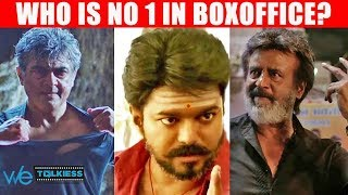 Kaala in 5th place - Top 10 Tamil movies highest first day box office collection