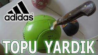 ADİDAS F50 FOOBALL BALL EXAMINATION WİTH 0 DEGREE KNİFE