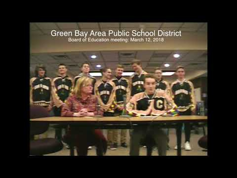 GBAPSD Board of Education meeting: March 12, 2018