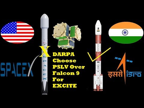 DARPA Trying To Launch Smallsat Experiment On An Indian Rocket | PSLV | Falcon 9 | ISRO | Spacex