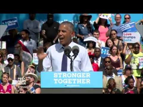Clinton sidelined by pneumonia, Obama steps up to boost her campaign