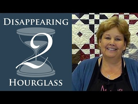 Make A Disappearing Hourglass 2 Quilt With Jenny Doan Of Missouri Star! (Video Tutorial)