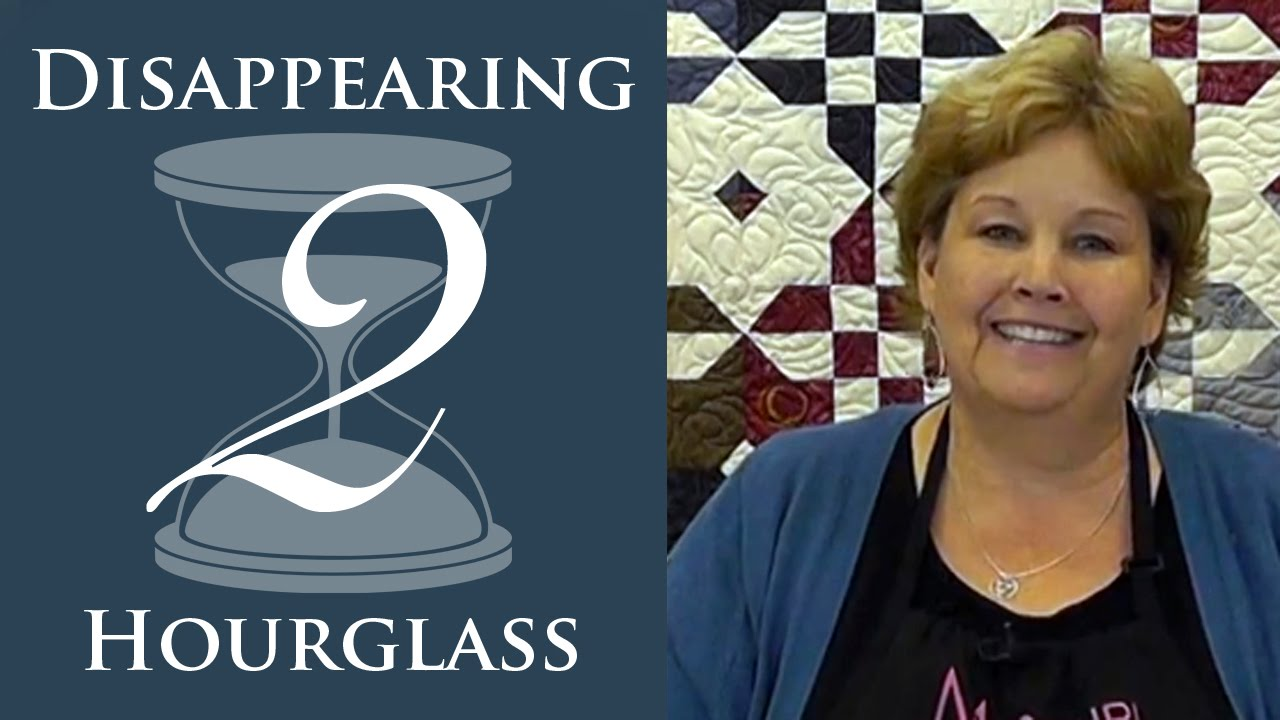 The Disappearing Hourglass 2 Quilt Easy Quilting Tutorial