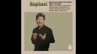 Mi gran noche, de Raphael (letra con huecos)