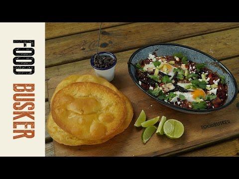 Huevos Rancheros - Mexican Breakfast | Food Busker
