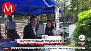 Marko Cortés gana la presidencial del PAN