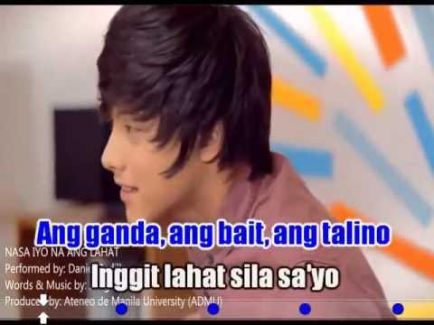 Nasa iyo na ang lahat (karaoke, Instrumental) - Daniel Padilla