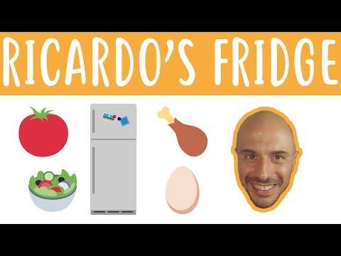 Ricardo's Fridge - Beginner Spanish - Daily Life #28