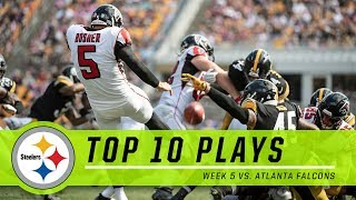 Best Plays from Falcons vs. Steelers | Top 10