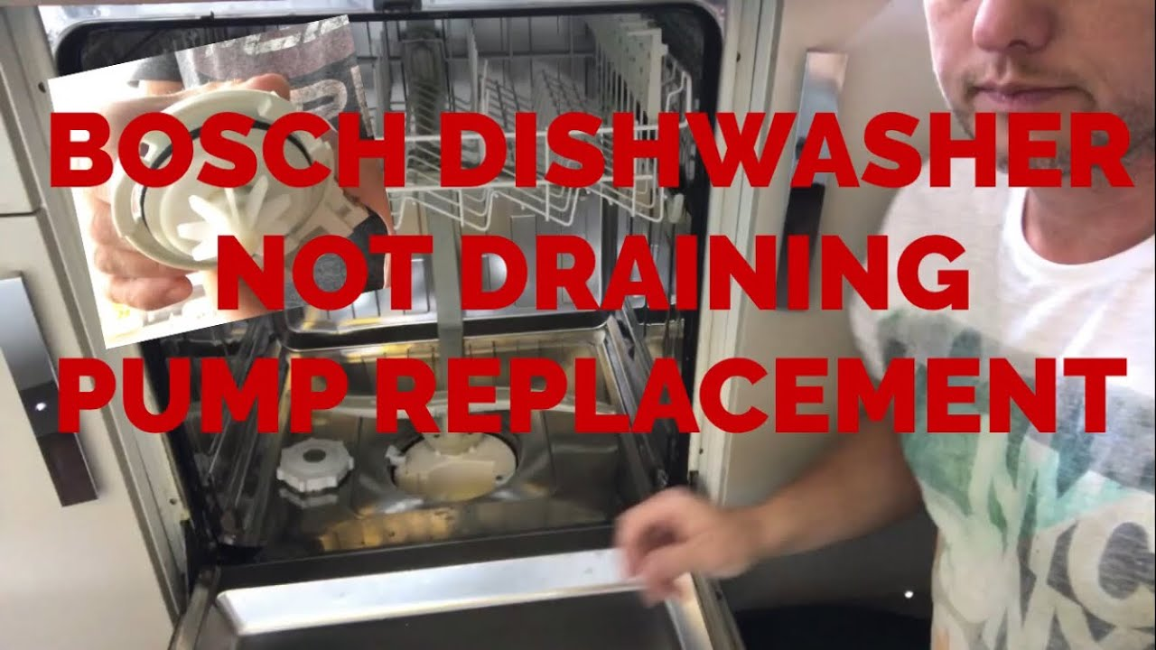 Bosch integrated dishwasher not draining how to repair replacing drain pump bosch integrated dishwasher not draining how to repair replacing drain pump publicscrutiny Gallery