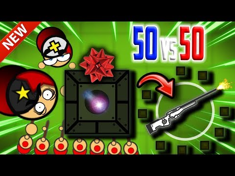 AWM-S GIFT On 50 Vs 50 GAMEMODE UPDATE! (Surviv.io Mega Airdrops, Super Soldiers & Funny Highlights)