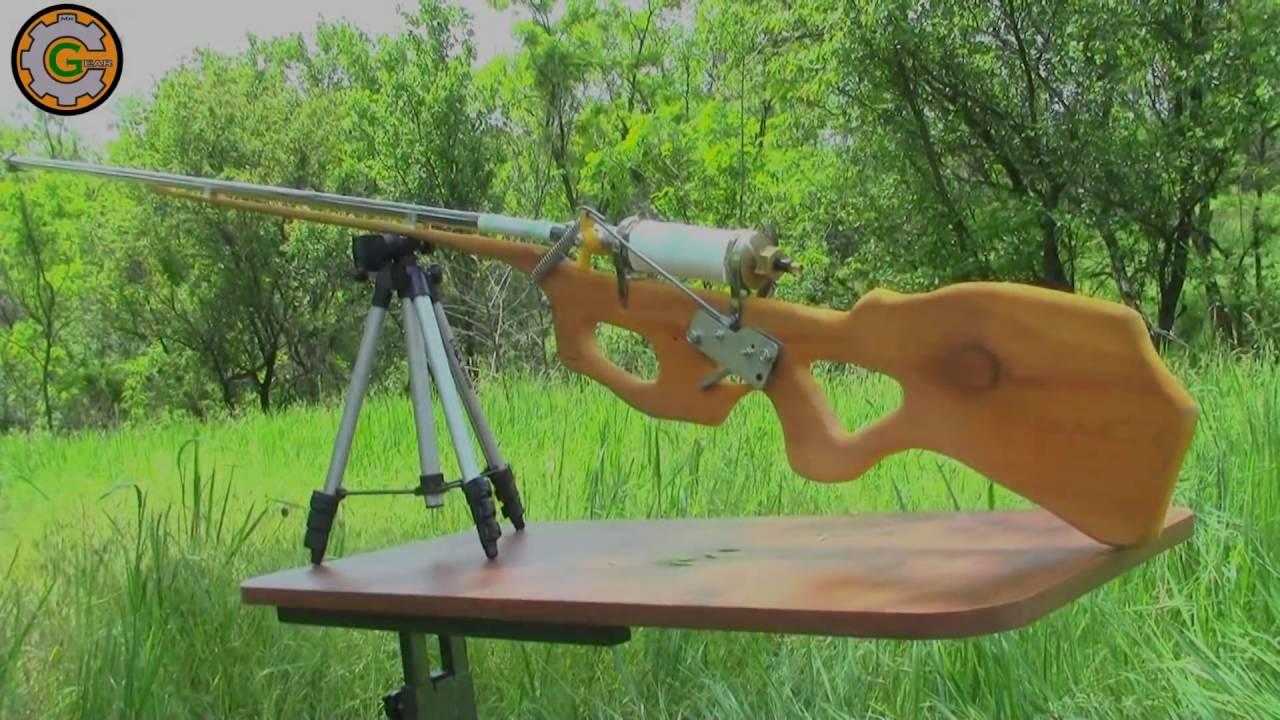 Как сделать пневматическую винтовку видео фото 268