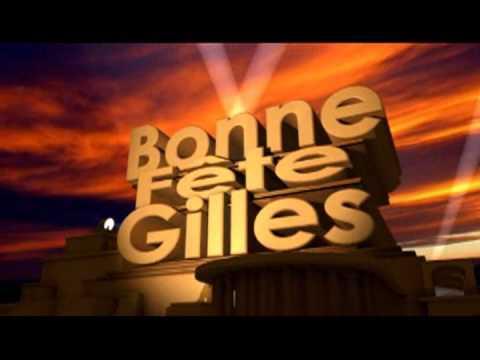 Bonne Fete Gilles Youtube