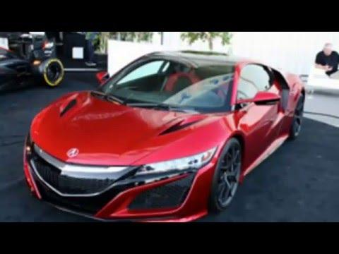 2016 Acura NSX New Car Super Sport