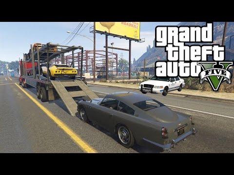 GTA 5 Bölüm 39 // Araba Kaçakçılığı